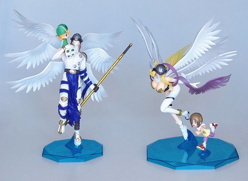 Digimon Adventure Digital Monster YAGAMI TAICHI V-mon Angewomon Angemon model toys for Animation collection and kid game gift image