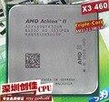 Frete grátis amd athlon ii x3 460 3.4 ghz processador am3 938-pin 95 w tirple core scrattered peças de desktop cpu