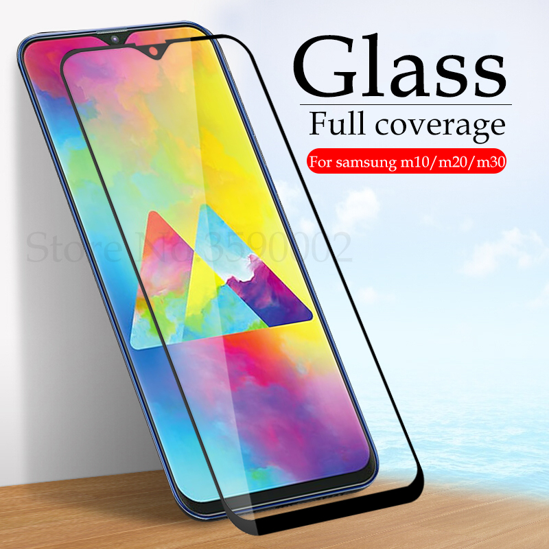 Tempered Glass For Samsung Galaxy M30 Screen Protector On The For Samsung M20 M10 Protective Glas Samsun M 10 20 30 Film Cover