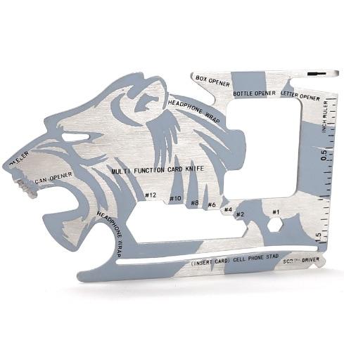 Tiger Credit Card Knife Multifunctional Pocket Knife Wallet Multi Tool Multitool Self Defense Supplies Multi Tools 10 in 1 tasmanian tiger tool pocket m