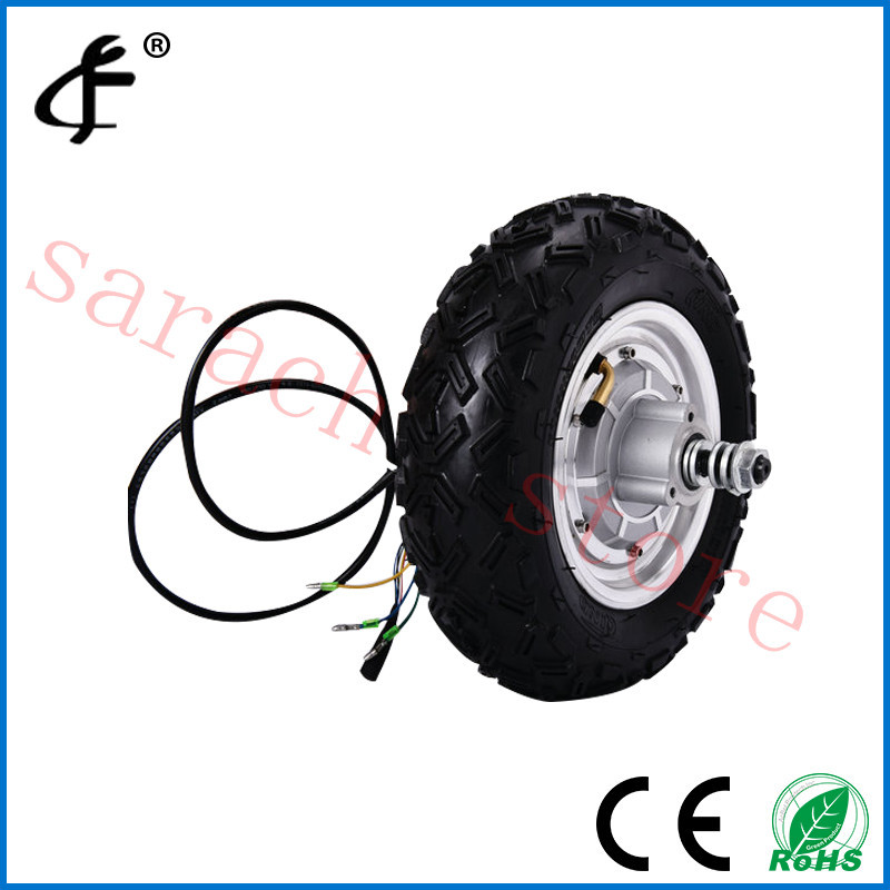 10 800w 36V vacuum tire electric scooter front wheel hub motor ,skateboard electric motor ,electric wheel hub motor 4 wheel electric skateboard single driver motor small fish plate wireless remote control longboard waveboard 15km h 120kg