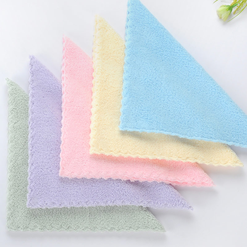 Microfiber Towels Soft Baby Towel Handkerchief For Infant Kid Children Feeding Bathing Face Washing Ho 30*30cm AD0441