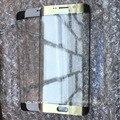 Оригинал Для Samsung Galaxy S6 Edge G925 G925F G925V G925P Внешний Фронт Экрана Стеклянный Объектив Черный Сапфир/Белый/Золото/Зеленый