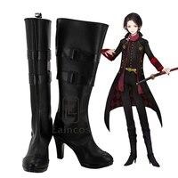 Popular Game Touken Ranbu Online Kashuu Kiyomitsu Cosplay Party Shoes Boots Custom Made