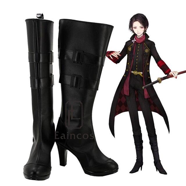 Touken Ranbu Online Game Kashuu Kiyomitsu Cosplay Shoes Boots Custom Made