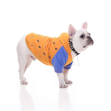 Dog Clothes for Small Dogs Cartoon Print Cotton Hoodies French Bulldog Chihuahua Winter Warm Outfit Puppy Pet Costume 3XL