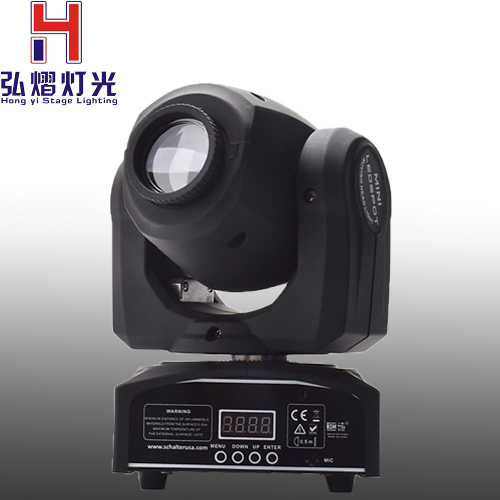 (1 pieces/lot) led moving head LED Inno Pocket Spot Mini Moving Head Light 30W DMX dj 8 gobos effect stage lights багажники inno