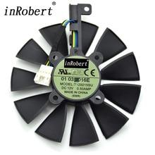 Everflow 87 MM T129215SU 4Pin Lüfter Für GTX 980 Ti R9 390X 390 GTX 1050 1060 1080 1070 RX 480 470 Grafikkarte Kühler Fans