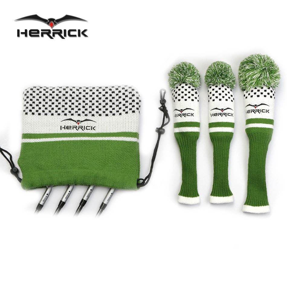New Golf Clubs Fairway Wood headcovers knitting wool covers 1#3#5# covers irons headcover Golf Accessories Free Shipping mini hand drill with keyless chuck 10pcs hss twist drill bits rotary tools metal spiral 0 8 3mm jewel manual drilling hole