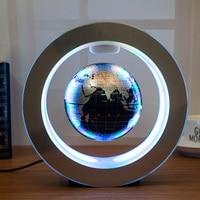 Novelty gifts Round LED Floating Globe Magnetic Levitation Light Antigravity ideas Lamp bola de plasma Dec plasma ball electric