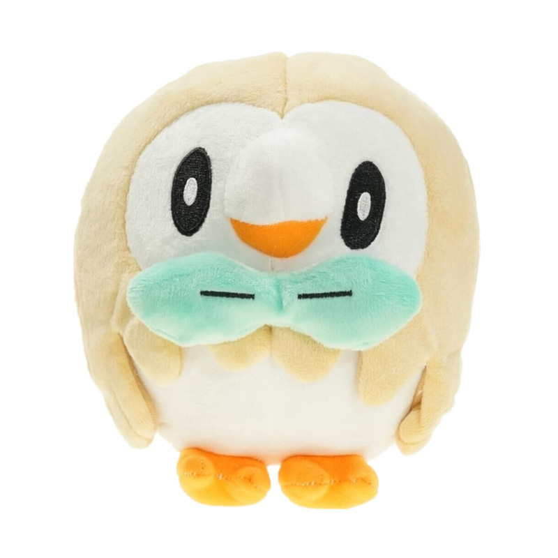 Cute Rowlet Animal Doll, 15 CM Cartoon Plush Toys,High Quality Soft PP Cotton Kids  Birthday Christmas Gift For Children one piece lage size 20inch baby toys pokemon xerneas doll a cute plush toys for children stuffed pp cotton high quality