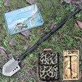 Длинная уплотненная многофункциональная лопата для отдыха на природе  снаряжение для выживания  садовые инструменты с бесплатной сумкой