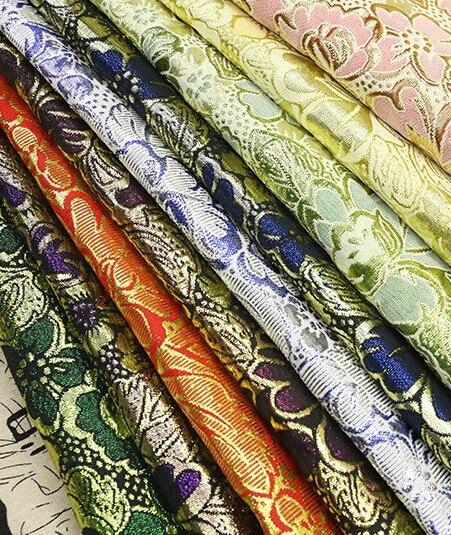 100*148 cm Brilhante Paisley Jacquard Brocado Tecido, Largura: 148 cm, Saia Casamento Tecido tecido, rússia Vestido de Dança Pano de Costura