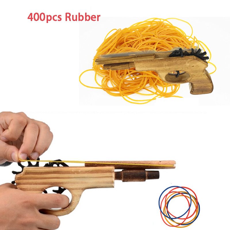 Classic Rubber Band Launcher Pitcher Unlimited Bullet