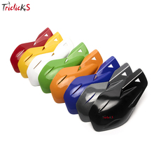 Triclick Motorcross Handlebar Hand Guards 7/8 Dirt Bike Scooter ATV Protector Handguard Motorcycle Brush Bar Guard L&R New