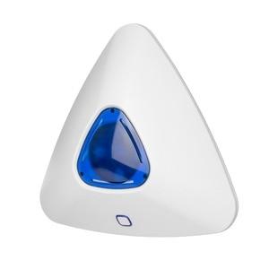 Image 2 - Fuers Wireless Flash Sound Licht Sirene Alarm Sirene Drahtlose Einbrecher Für G90B Wifi GSM GPRS Home Alarm System Sicherheit