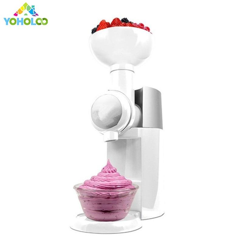 Automatic Frozen Fruit Dessert Machine Kitchen Mini Milkshake Household Tools DIY Fruit Ice Cream Maker Machine
