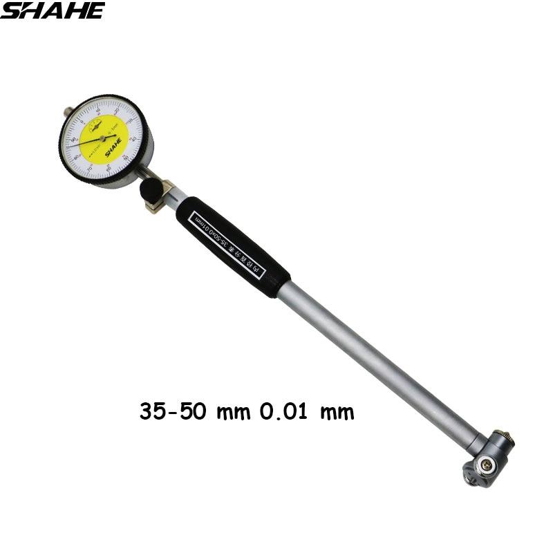 SHAHE 35 50 mm 0 01 mm High Accuracy Dial Bore Gauge Hole Diameter Measuring gauge