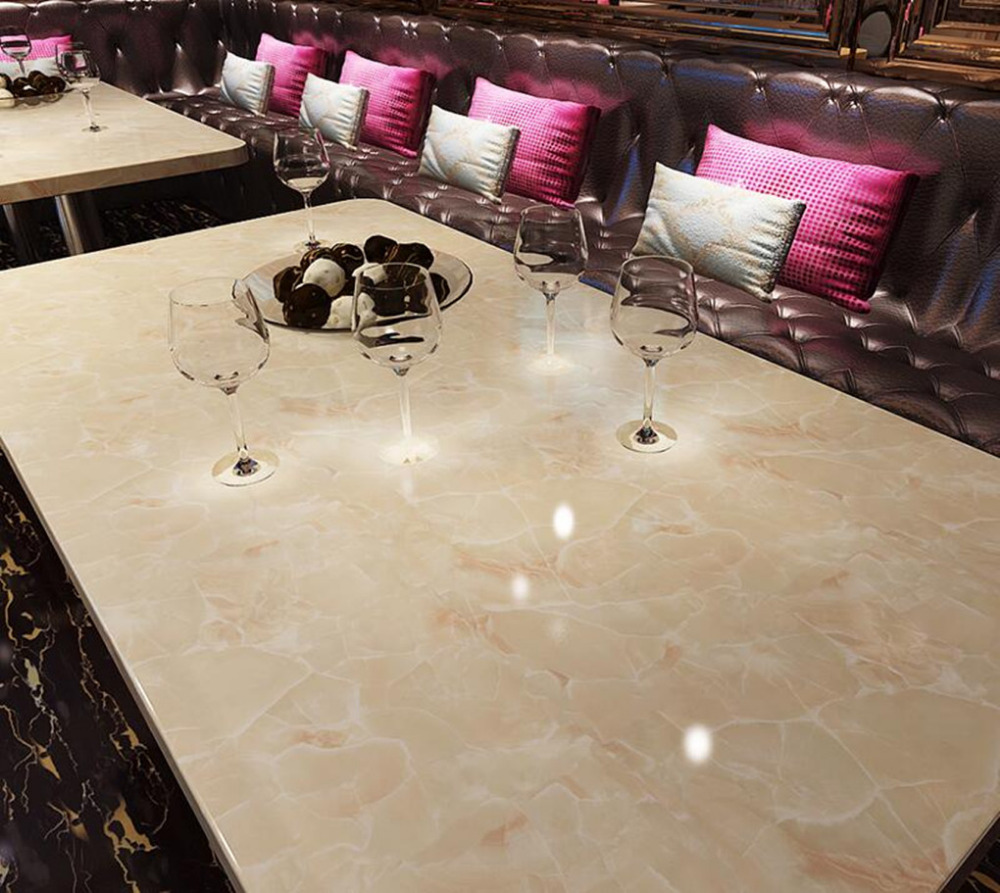 marble gloss vinyl film contact paper peelstick counter top table