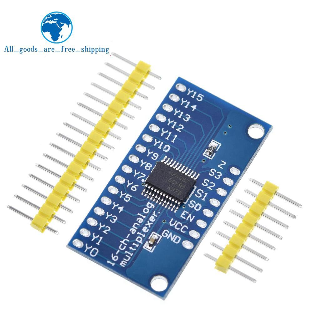 16-канальный аналоговый цифровой мультиплексор TZT CD74HC4067, модуль для Arduino