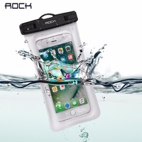 Rock Gym Waist Bag Waterproof Mobile Phone Bags Universal Phone Case Clear Pouch For Iphone 7