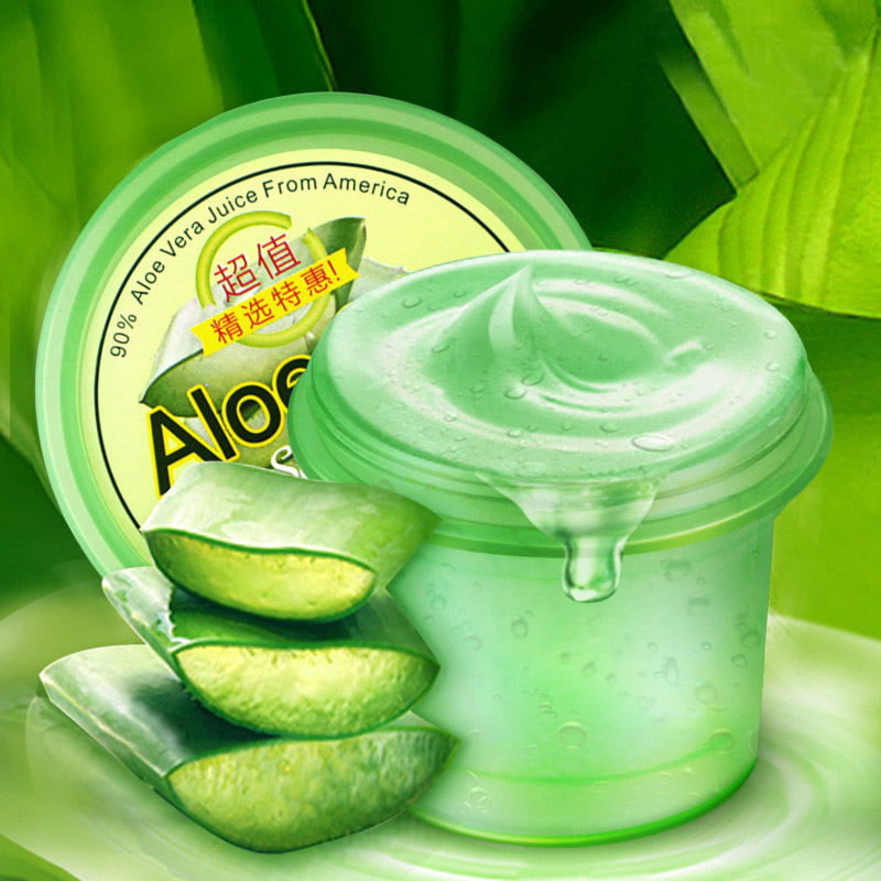 NEW Aloe Vera Gel 120g Scar Acne Removal Pockmark Whitening Moisturizing Cream Emulsion Face Care