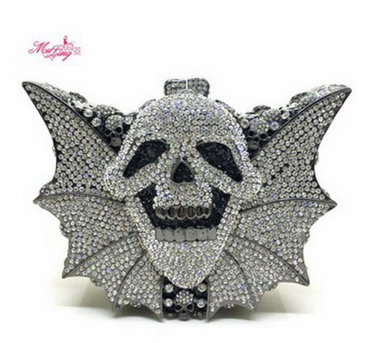 Crystal Women Clutches Handbag (8)