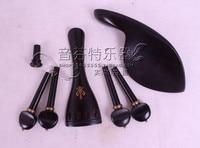 Violin accessories quality ebons carving set tailpiece rebec column
