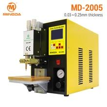 MINGDA Spot Welder Machine 110 220V Good Connection 18650 font b Battery b font Welding Machine