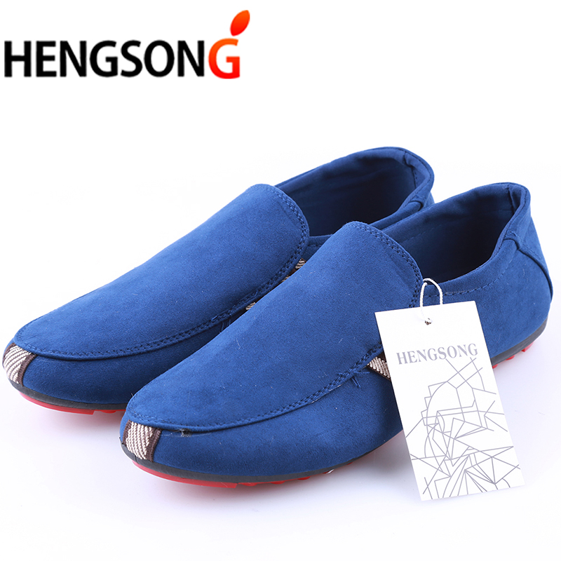 96bfab5e1fc Brand Fashion Summer Style Soft Men Peas Loafers Casual Shoes Men ...