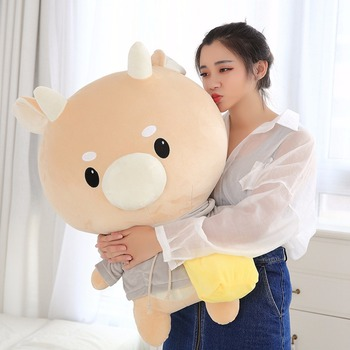 1 pc gigante TV encantador lo que está mal con la Secretaria Kim Hard Caw mascota muñeca de peluche coreano Drama vaca relleno Niño regalo de Cumpleaños chico niños