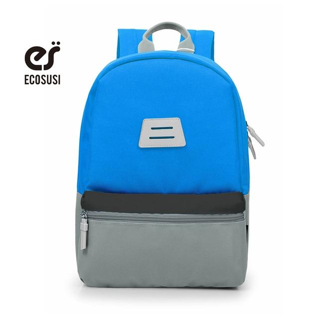 5da97a259239 ECOSUSI 2018 Fashion School Bags for Girls Boys Backpack Kids Backpacks Cute  Children School Bag Unisex School Bag For Teenage