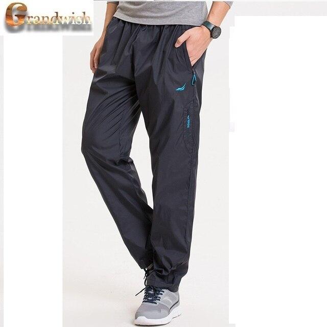 Grandwish Heavyweight Pantalones de Lana Hombres de Los Hombres Calientes de Los Pantalones Gruesos Pantalones Pantalones Para Hombre Invierno Fleece Pantalones Fuera, PA786