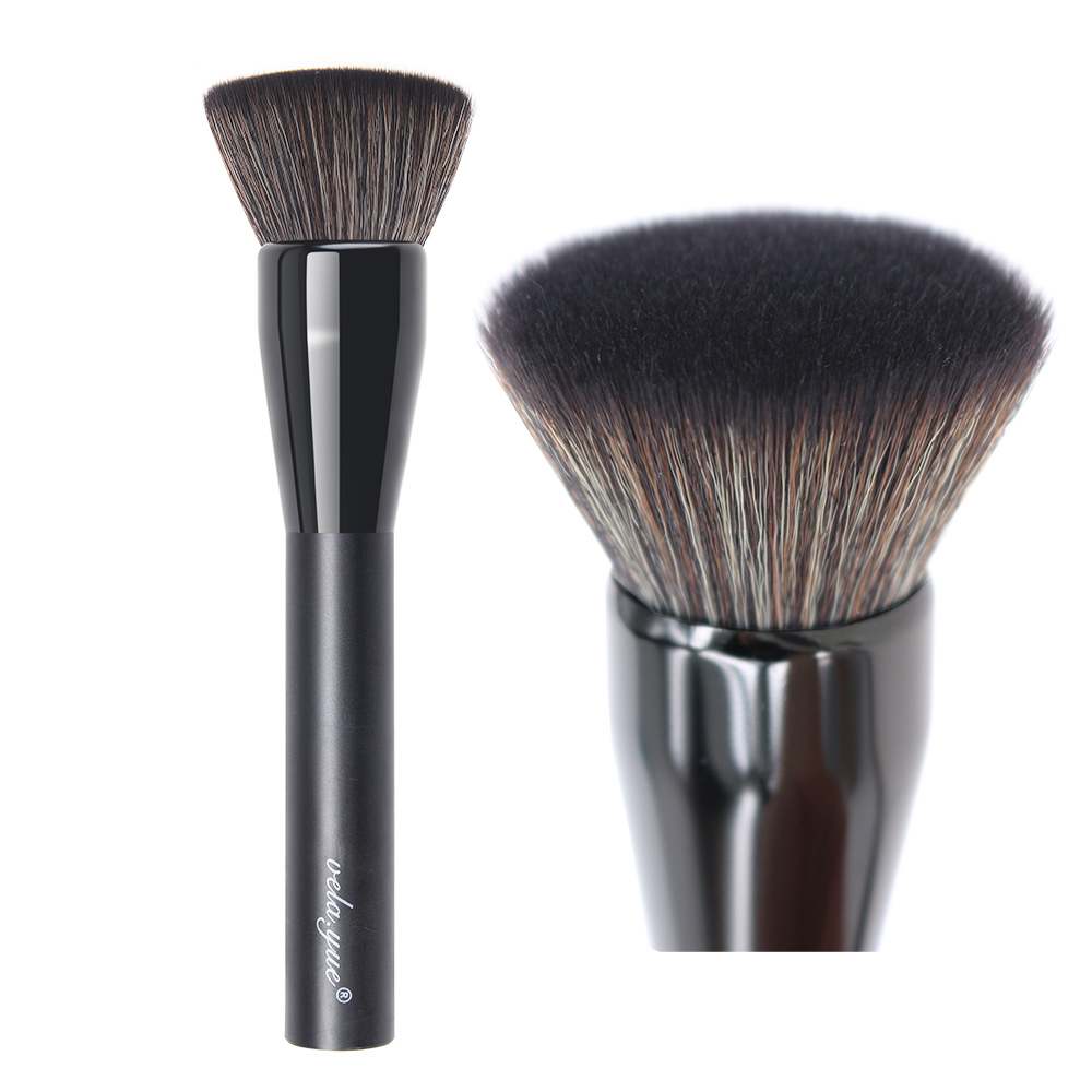 все цены на vela.yue Pro Mineral Foundation Makeup Brush Flat top Kabuki Face Buffing Brush