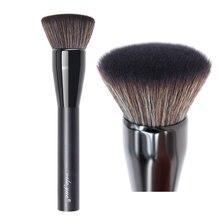 Vela. yue profissional mineral fundação escova de maquiagem plana topo kabuki rosto escova polivalente cosméticos beleza ferramenta