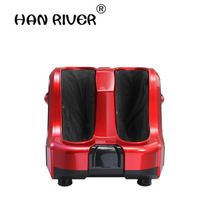 HANRIVER 2018 Electric Shiatsu Heating Leg Massager Gua Sha Vibration Therapy Reflexology Massage Too Pain Relief Home Relaxatio