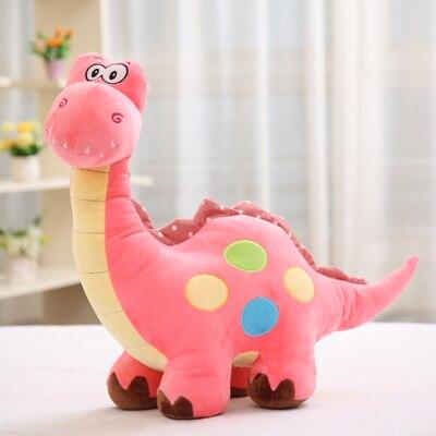 Large 50cm Cartoon Pink Dinosaur Plush Toy Soft Doll Throw Pillow