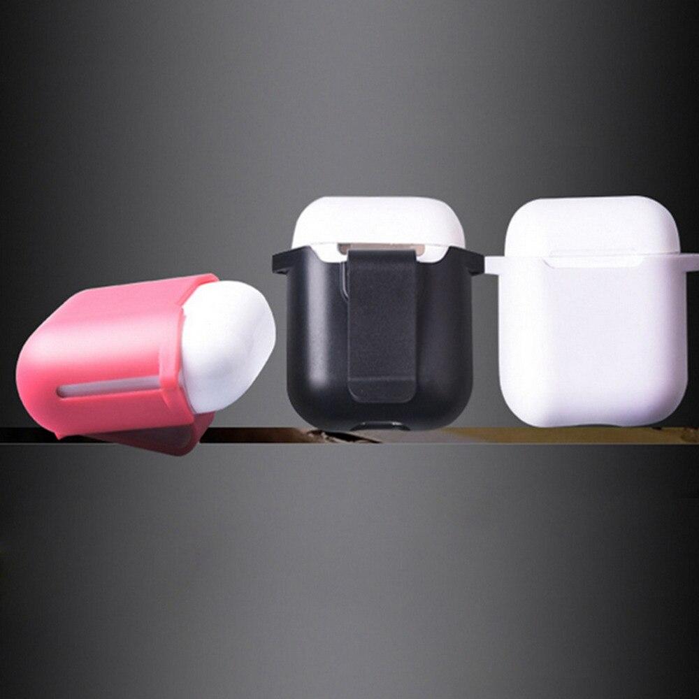Путешествия ремешках чехол Обложка для Apple airpods наушников съемный защитный жесткий В виде ракушки Fundas Аксессуары рукавом Чехол
