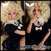New 156cm WMdoll No85 Korean girl doll  sex doll skeleton oral adult doll with vagina real pussy