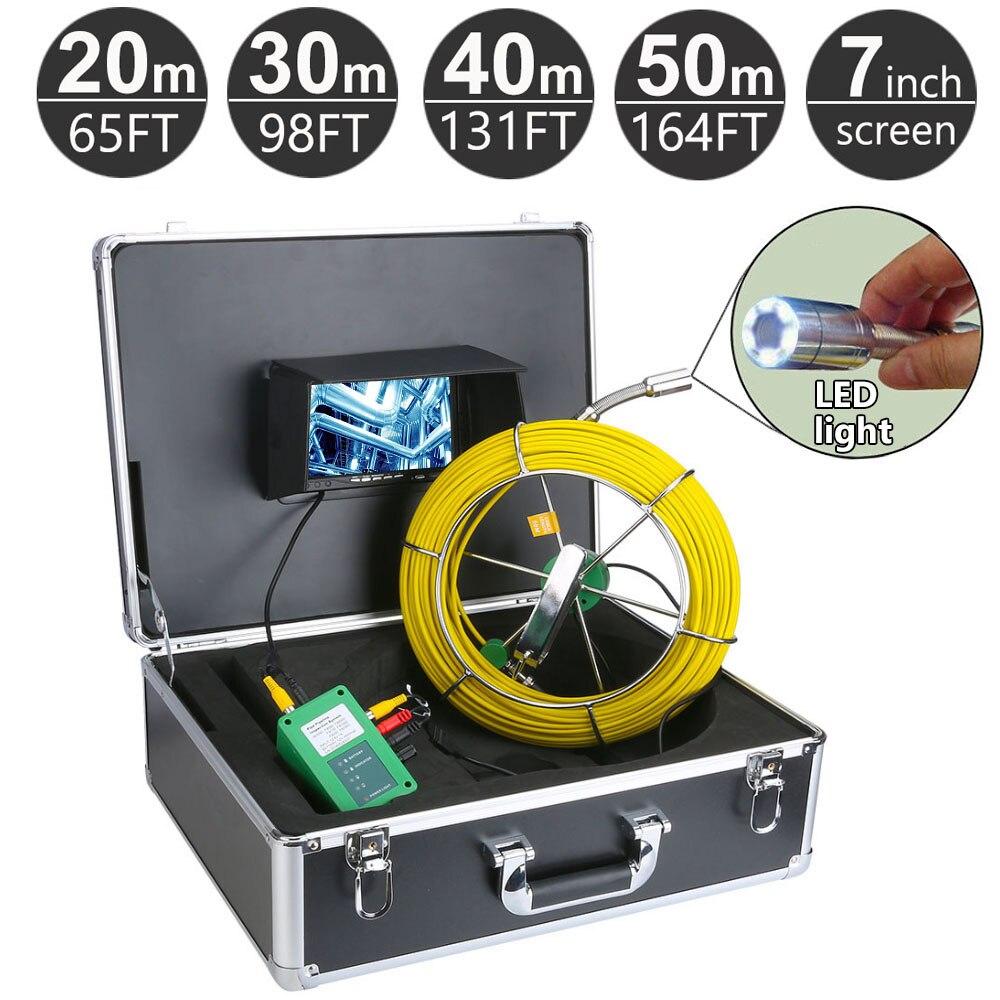 Werkzeuge Messung Und Analyse Instrumente Tft Farbe Monitor Wasserdichte Rohr Inspektion Mit Video Funktion 710d