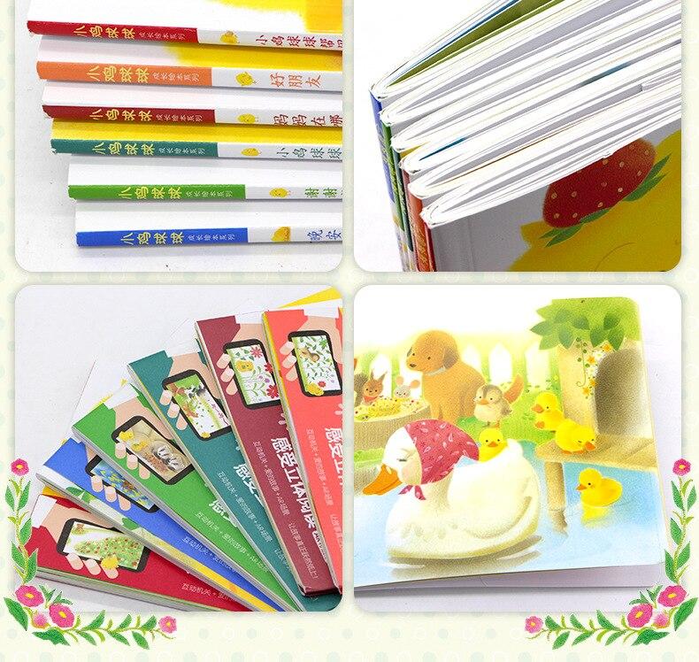 6 livrosSet Bola Frango Série de Crescimento