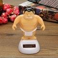 Alta Calidad de Energía Solar Bobble Figura Juguete Bailarina de Luchador de Sumo Moviendo Mesa Car Home Decor Luchador De Sumo Japonés