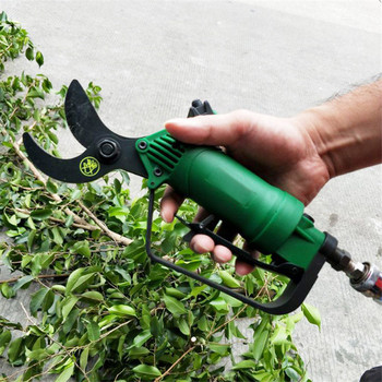 цена на gardening pneumatic pruning scissors fruit tree branches air scissors orchard cutter branches shear wind cutting tool 25mm