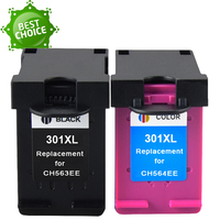Ink Cartridge Replacement for hp 301 xl CH563EE CH564EE for Deskje 1000 1050 2000 2050 2510 3000 3054