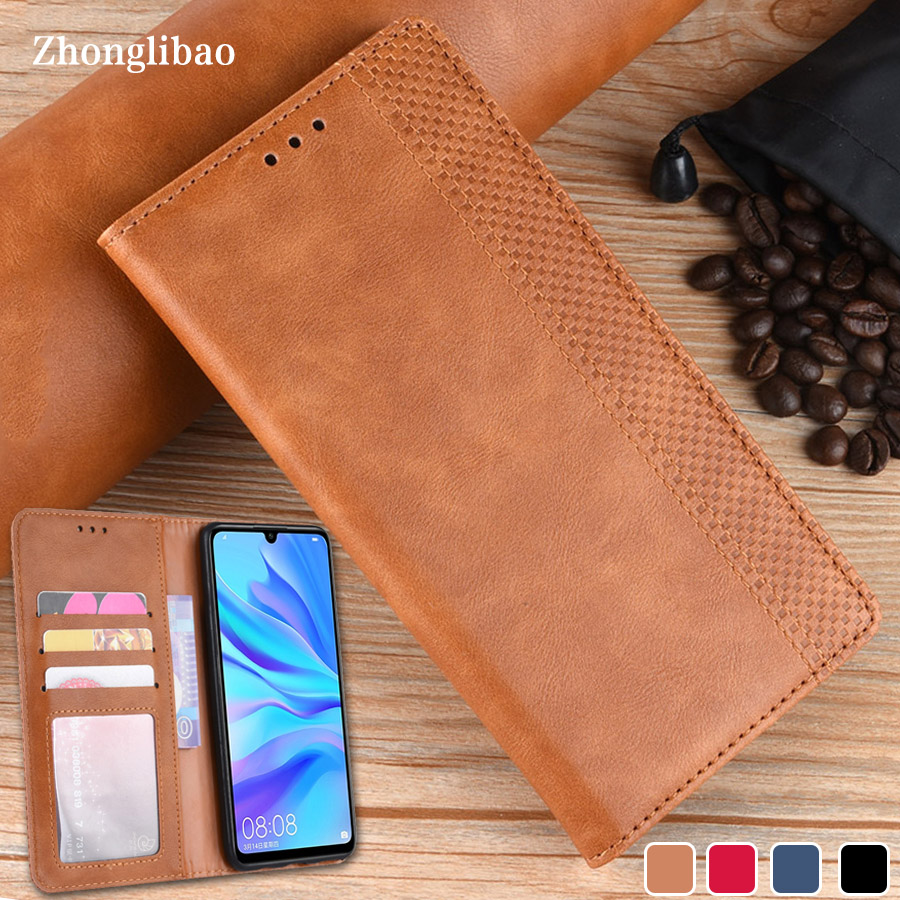 Luxury Leather Magnetic Flip <font><b>Case</b></font> for <font><b>Huawei</b></font> mate 30 pro Honor 20 V20 8x 8a Pro 10i Y6 Y7 Pro P Smart <font><b>Y9</b></font> <font><b>2019</b></font> Y5 2018 Cover image
