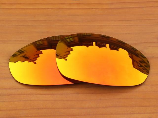 Поликарбонат-Своих Красный Замену Линзы Для Джульетта Солнцезащитные Очки Рама 100% UVA и UVB Защиты