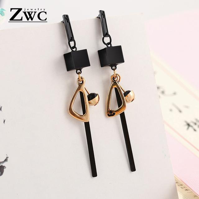 ZWC Fashion New Women's Acrylic Drop Earrings Hot Selling Long Dangling Earrings Gift For Women Party Wedding Jewelry Brincos
