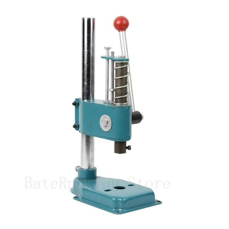 GS-1T Manual press, Carbon steel desktop manual press machine, small punch machine,hand stamping machie 1 pcs 38 38cm small heat press machine hp230a