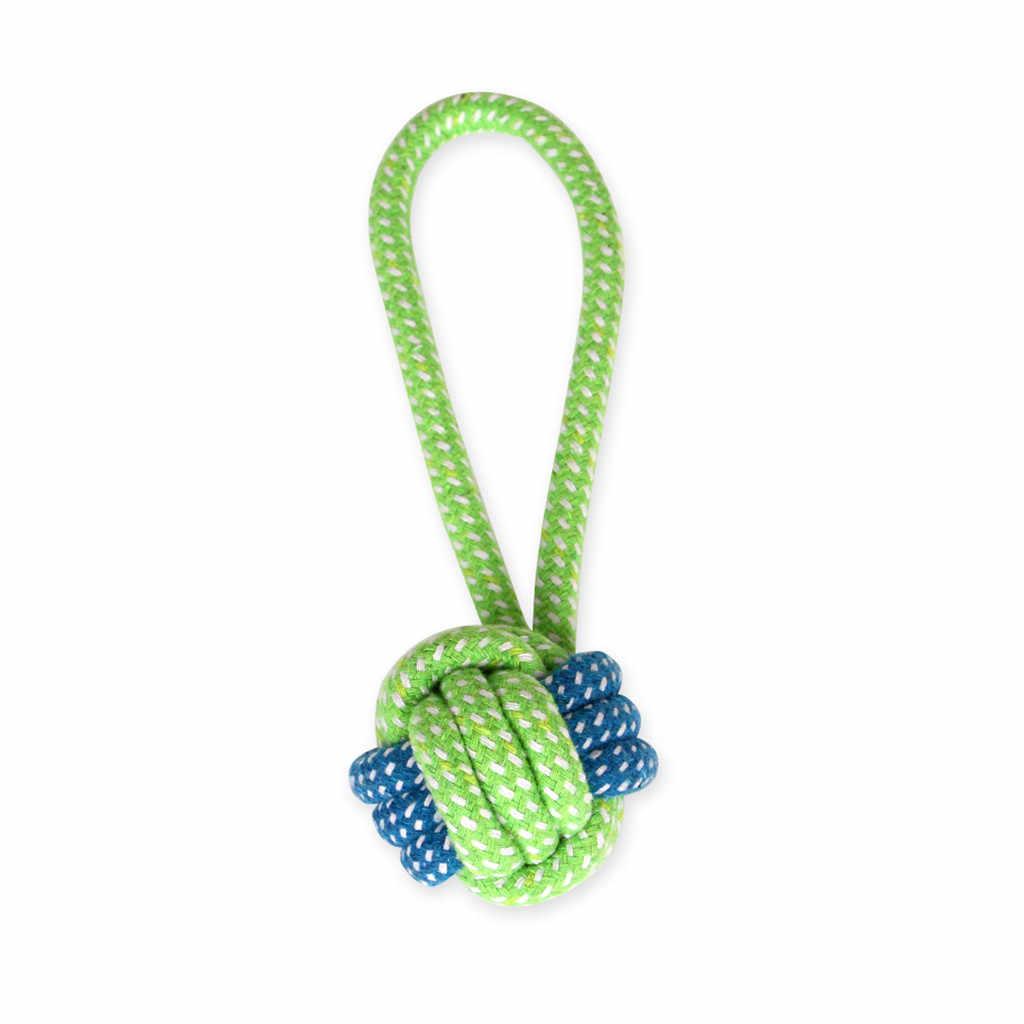 Transer шарик 7 шт. собака игрушка жевания в форме узла и шара для зубов игрушки для домашних животных Прямая поставка от производителя из хлопка больших собак Konijnen игрушки 19Apr22 P40