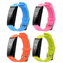 OLED Экран Водонепроницаемый Smart Watch Sport браслет Heart Rate Мониторы Фитнес трекер Шагомер Смарт браслеты